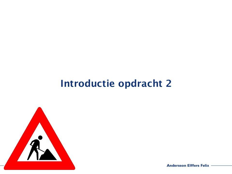 Introductie opdracht 2