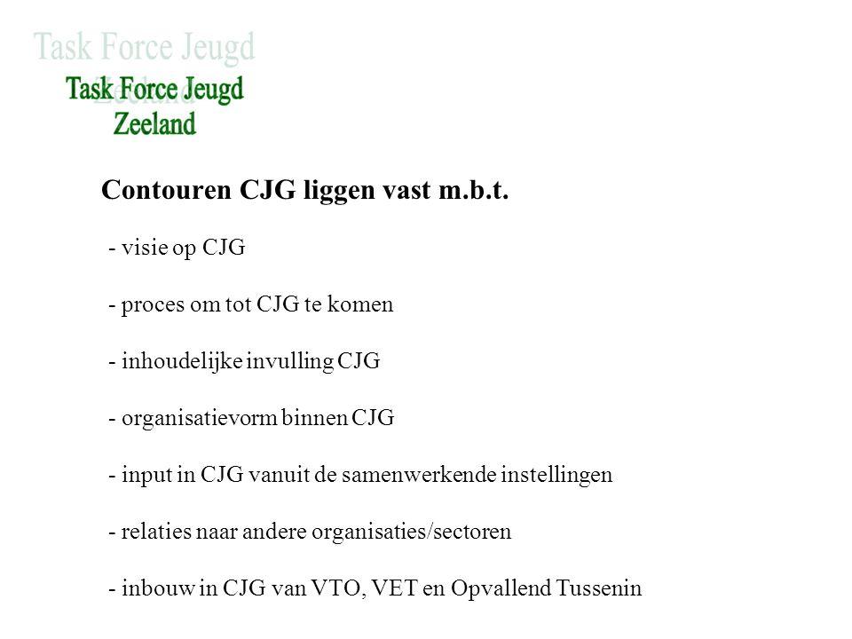 Contouren CJG liggen vast m.b.t.