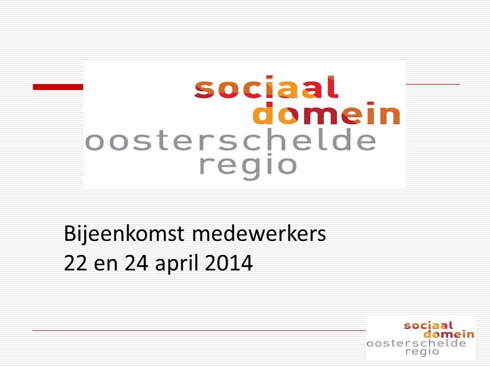 Bijeenkomst medewerkers 22 en 24 april 2014