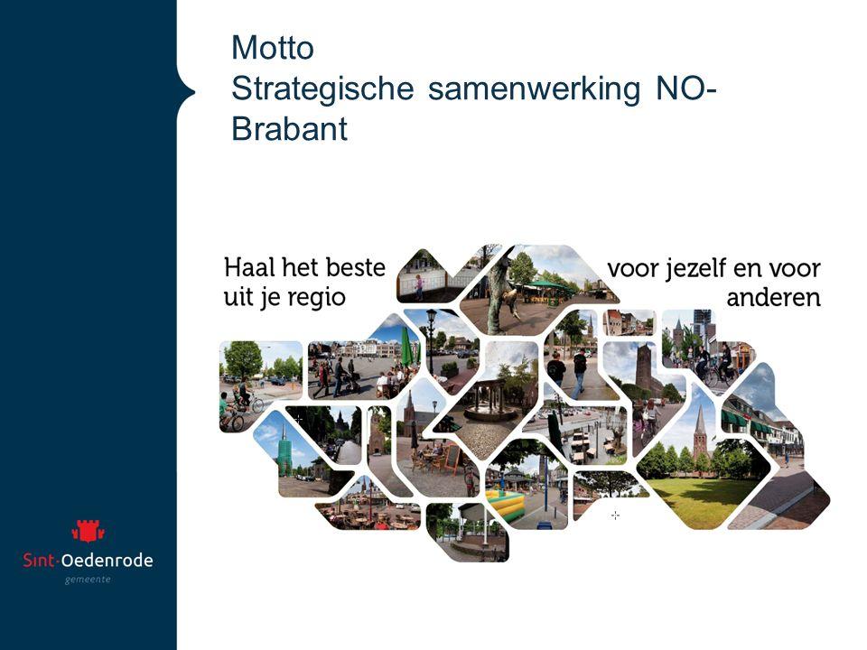 Motto Strategische samenwerking NO- Brabant