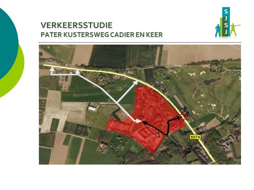 VERKEERSSTUDIE PATER KUSTERSWEG CADIER EN KEER