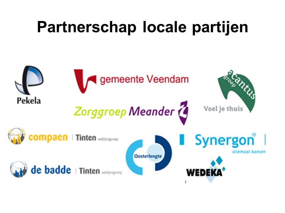 Partnerschap locale partijen
