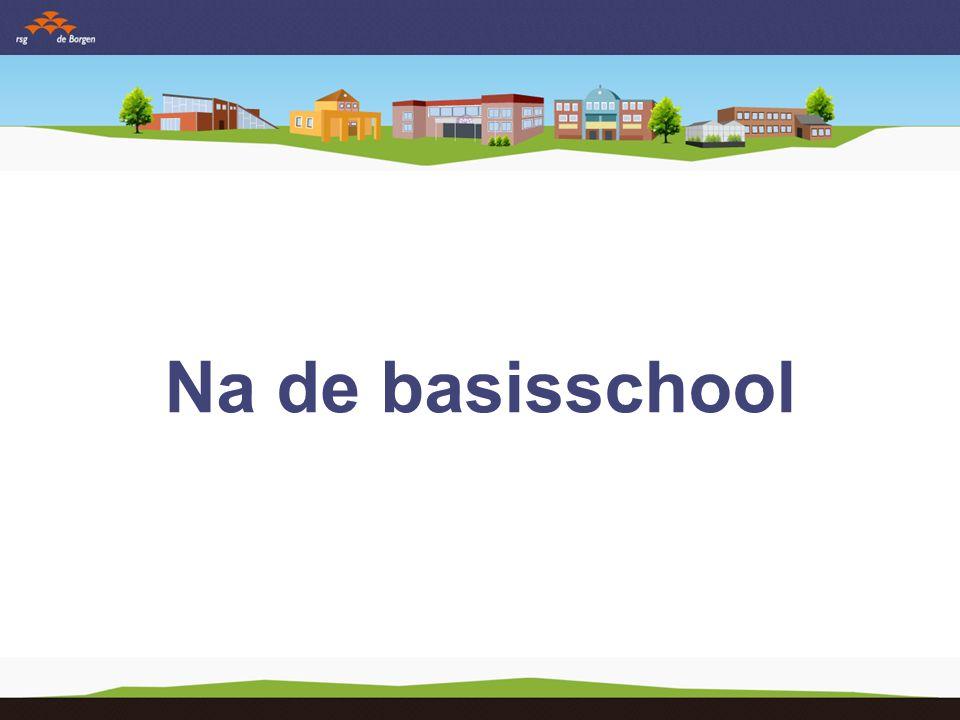 Na de basisschool