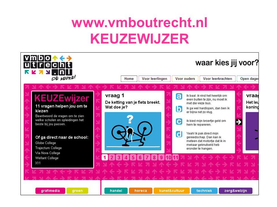 www.vmboutrecht.nl KEUZEWIJZER
