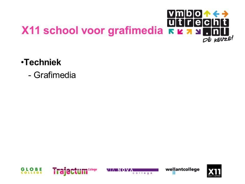 Techniek - Grafimedia X11 school voor grafimedia