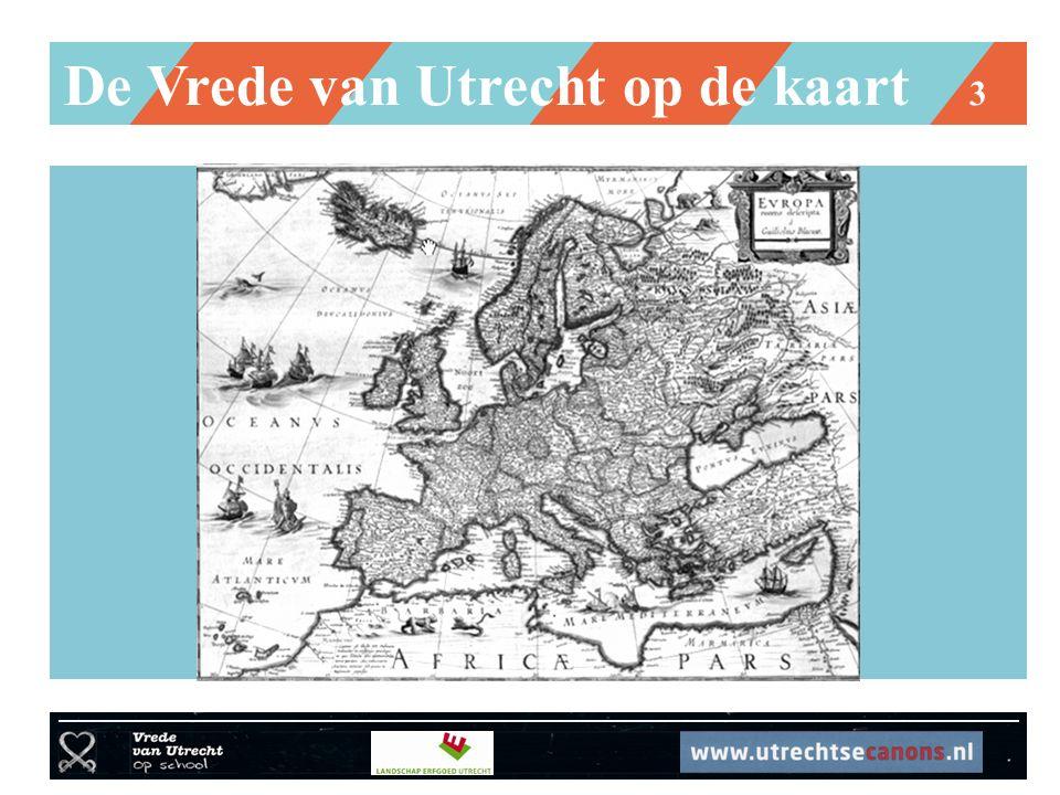 De Vrede van Utrecht op de kaart 3