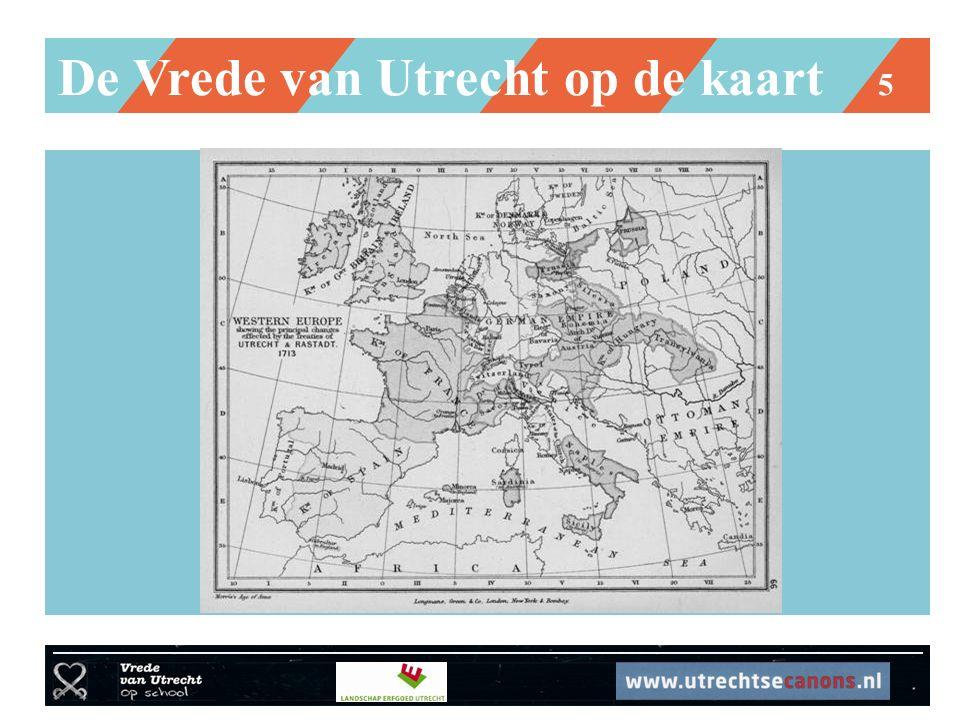 De Vrede van Utrecht op de kaart 5