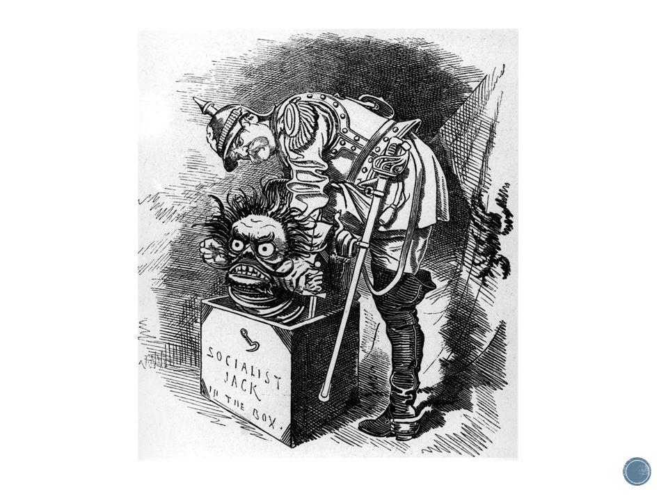 Buitenlandse politiek ▪ 1871 Ontstaan van grote Duitse staat maar dat vormt ook een bedreiging (bovendien willen de Fransen wraak) ▪ Bismarck wil Europese conflicten voorkomen (Duitsland kan dat niet aan)  Behoud van het machtsevenwicht  Isoleren van Frankrijk  Daardoor aangaan van bondgenootschappen (alliantiepolitiek)  Geen koloniaal rijk (nadruk lag op Europa)