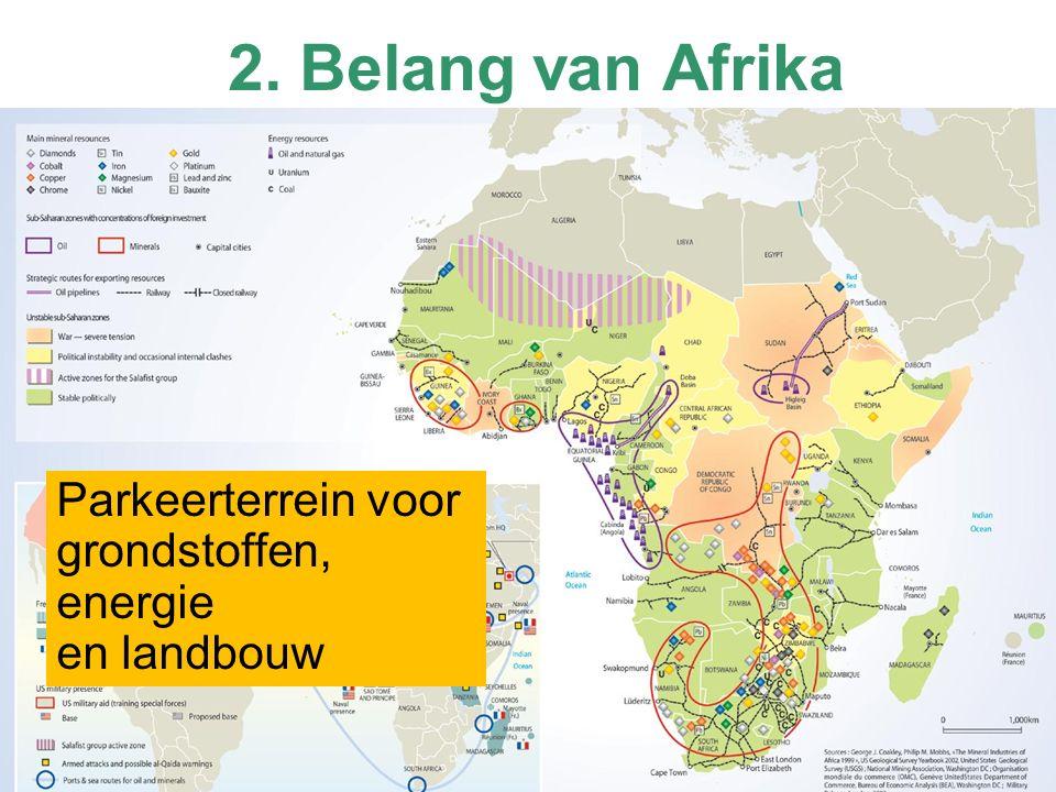2. Belang van Afrika Parkeerterrein voor grondstoffen, energie en landbouw