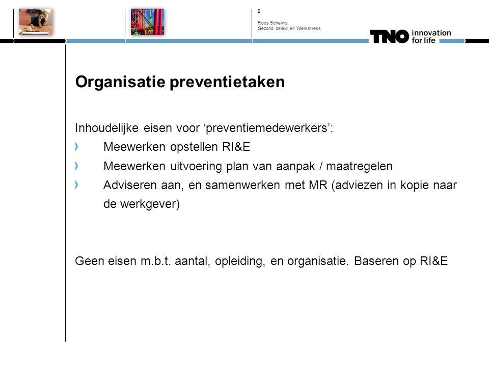 Roos Schelvis Gezond beleid en Werkstress 19