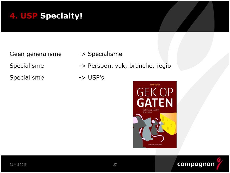 4. USP Specialty.