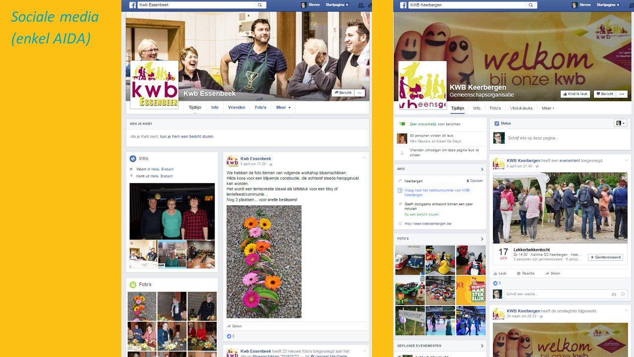 Sociale media (enkel AIDA)