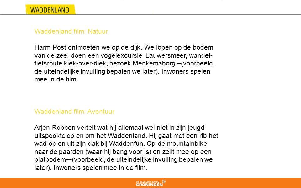 Waddenland film: Natuur Harm Post ontmoeten we op de dijk.
