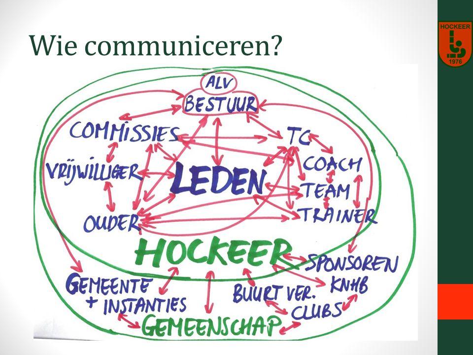 Wie communiceren