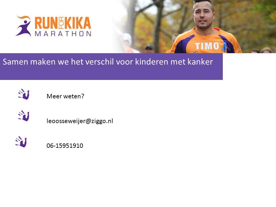 genda fundraising Clinic Samen maken we het verschil voor kinderen met kanker Meer weten.