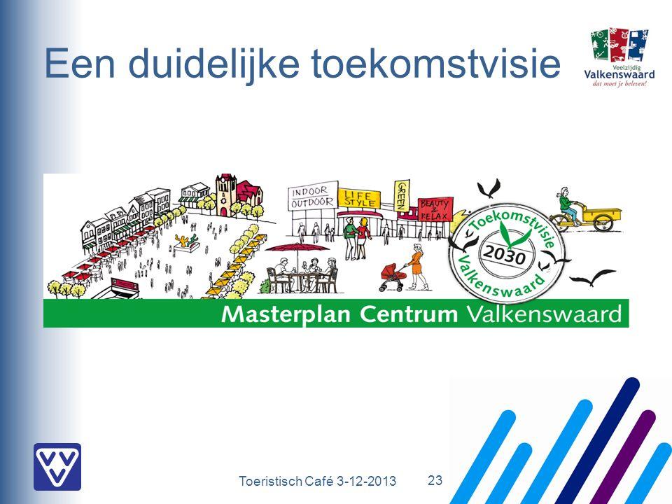 Toeristisch Café 3-12-2013 Een duidelijke toekomstvisie 23