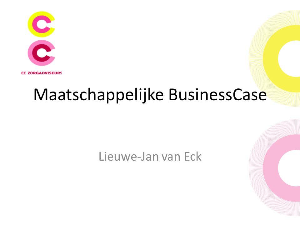Maatschappelijke BusinessCase Lieuwe-Jan van Eck