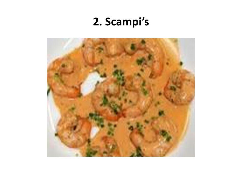 2. Scampi's
