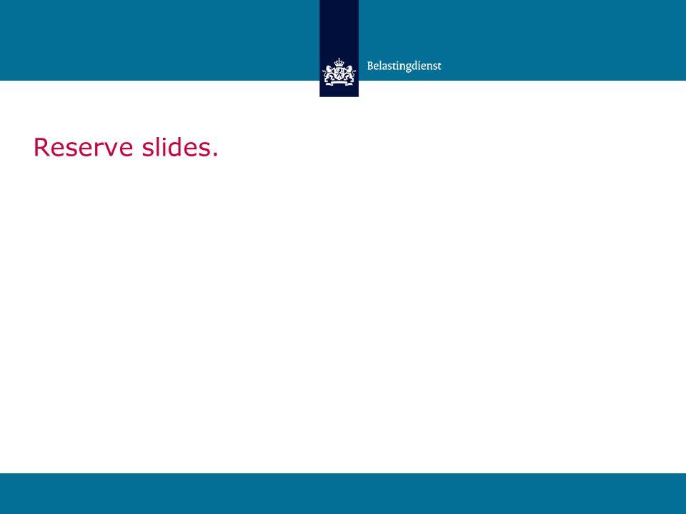 Reserve slides.
