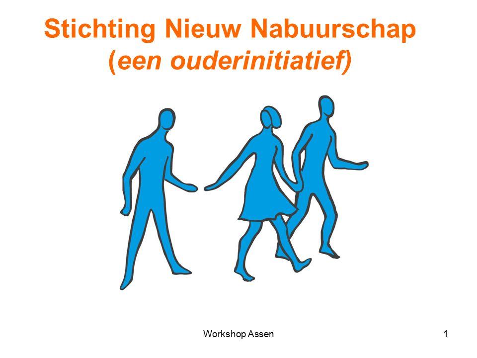 Workshop Assen1 Stichting Nieuw Nabuurschap (een ouderinitiatief)