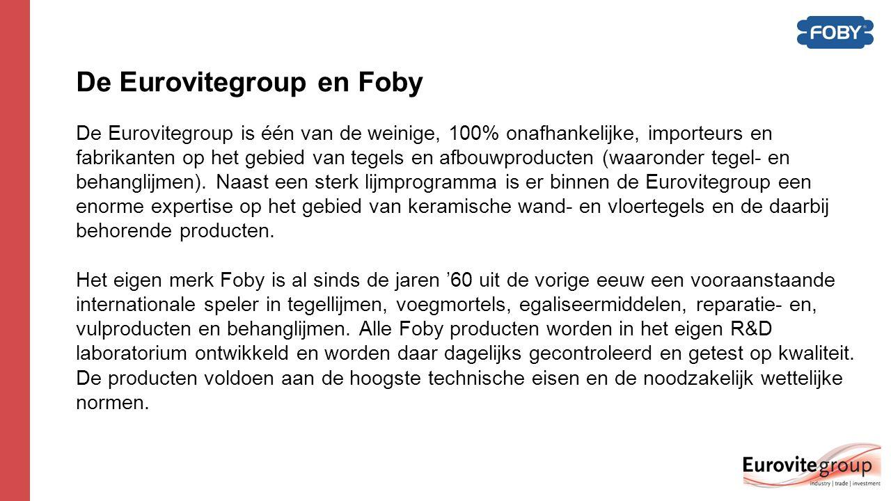 Foby Waterdicht systeem  Waterdicht systeem; Met het FOBY® waterdicht systeem kunt u gegarandeerd in 8 stappen waterdicht tegelwerk realiseren.