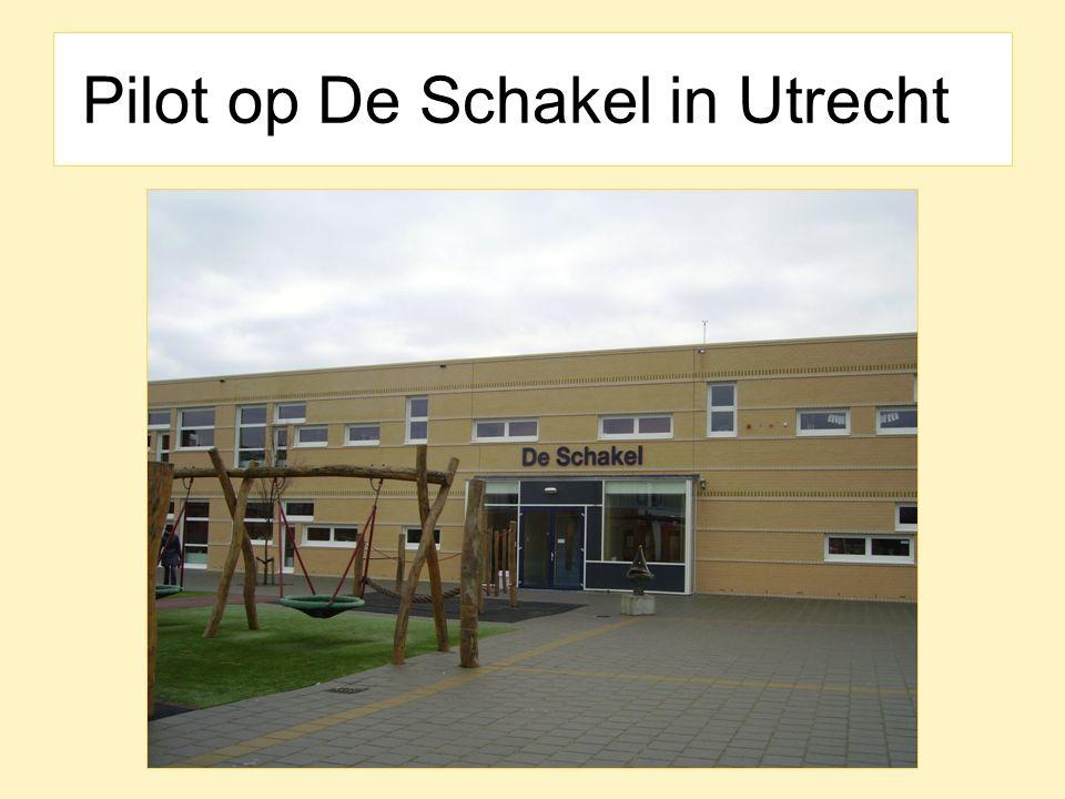 Pilot op De Schakel in Utrecht
