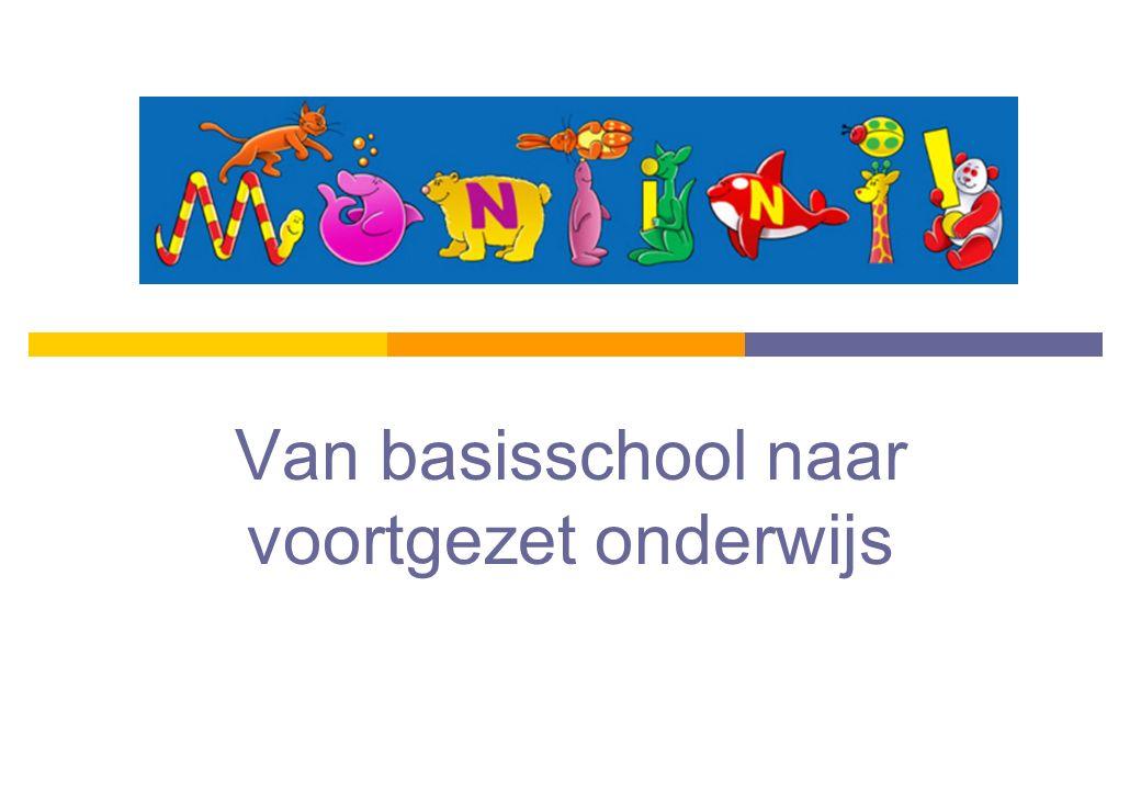 Programma  Schooladvies van voorlopig naar definitief  Leerling-profielen  Voorbeeld VMBO-t  Drempeltoets  Portfolio  Structuur VO  Procedure schoolverlaters  Vragen