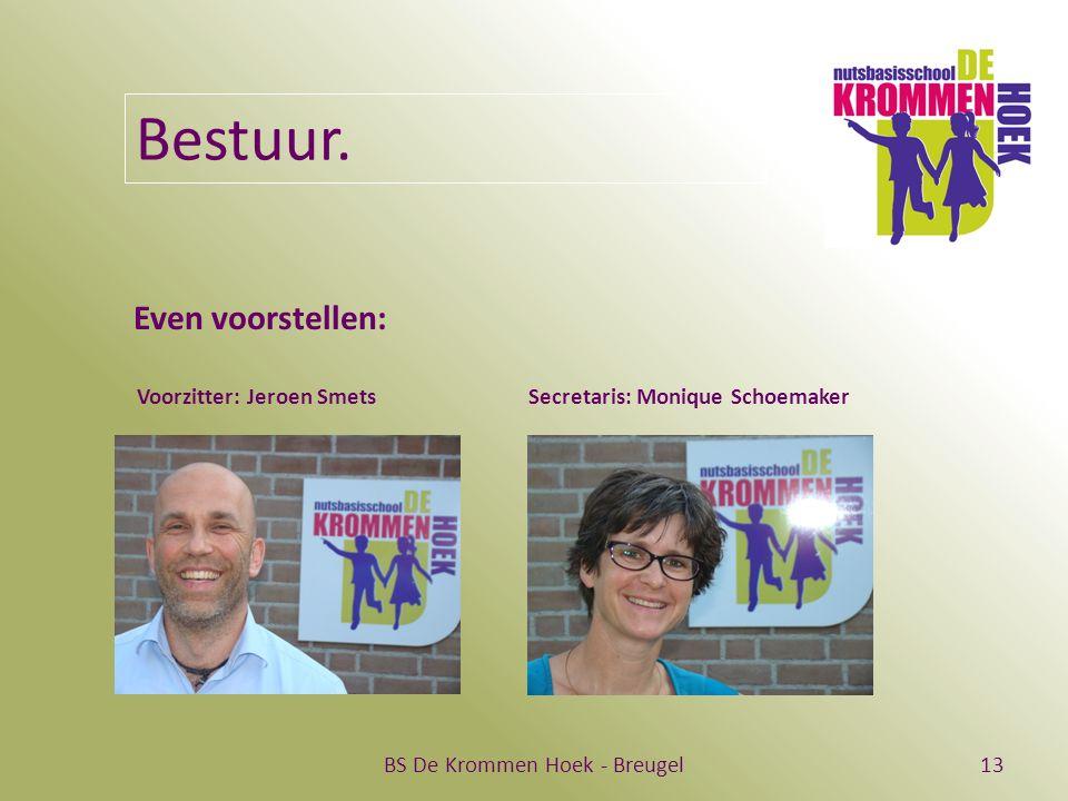 BS De Krommen Hoek - Breugel13 Bestuur.