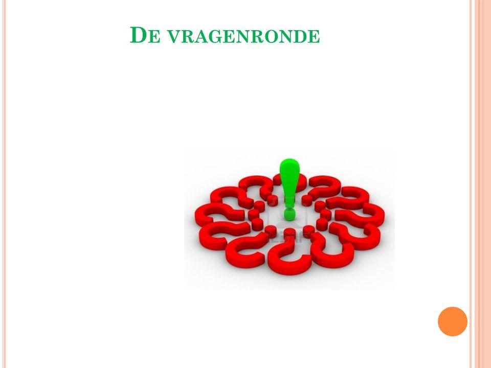 D E VRAGENRONDE