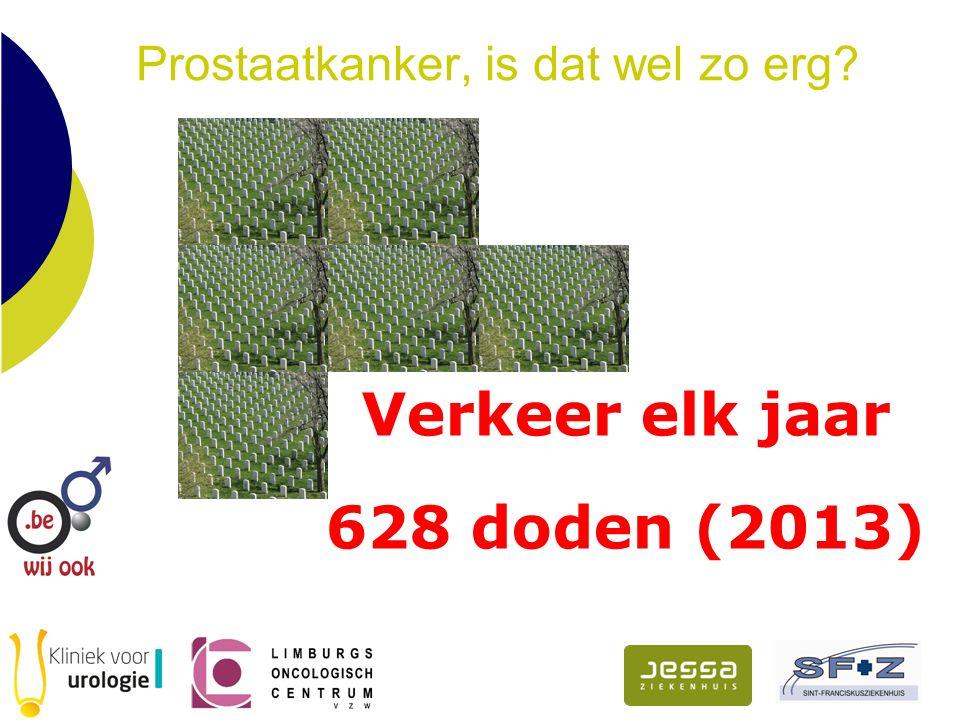 Verkeer elk jaar 628 doden (2013)