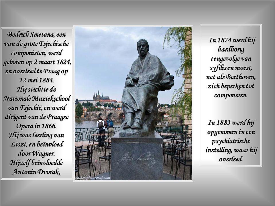 Bij het zien van de rivier en zijn stroming begrijpt men waar Bedrich (Frederik) Smetana inspiratie putte voor zijn symfonisch gedicht « Vltava » in zijn Má Vlast (Mijn Vaderland).