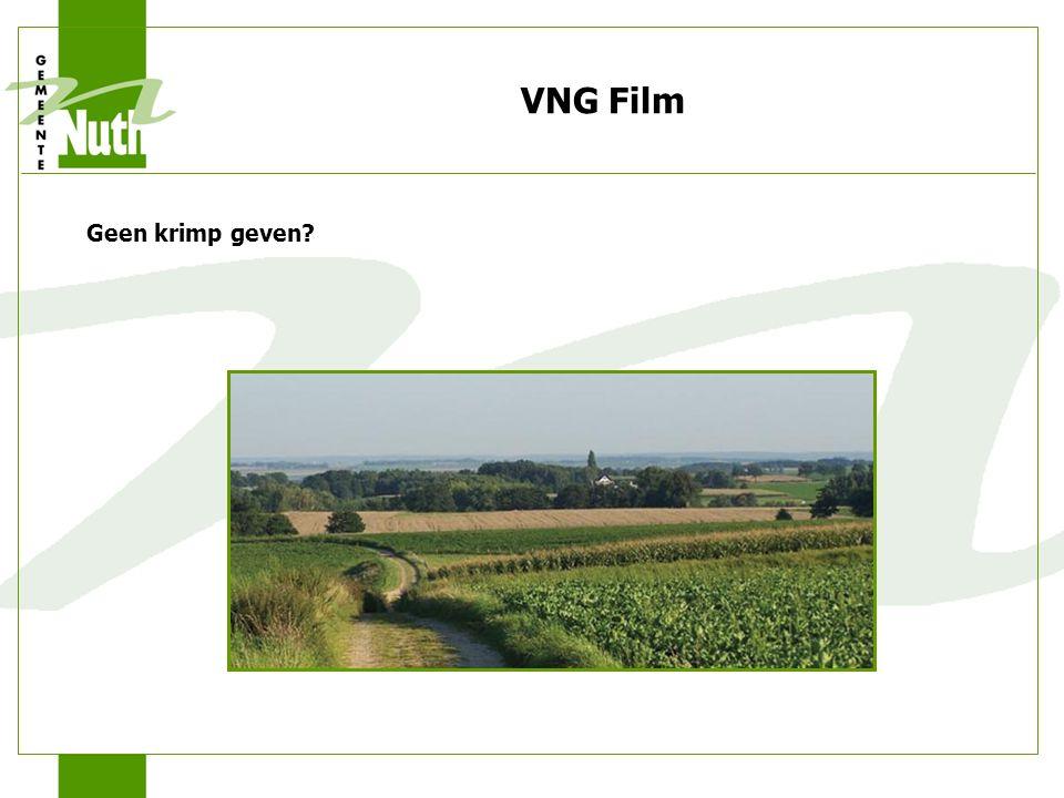 VNG Film Geen krimp geven