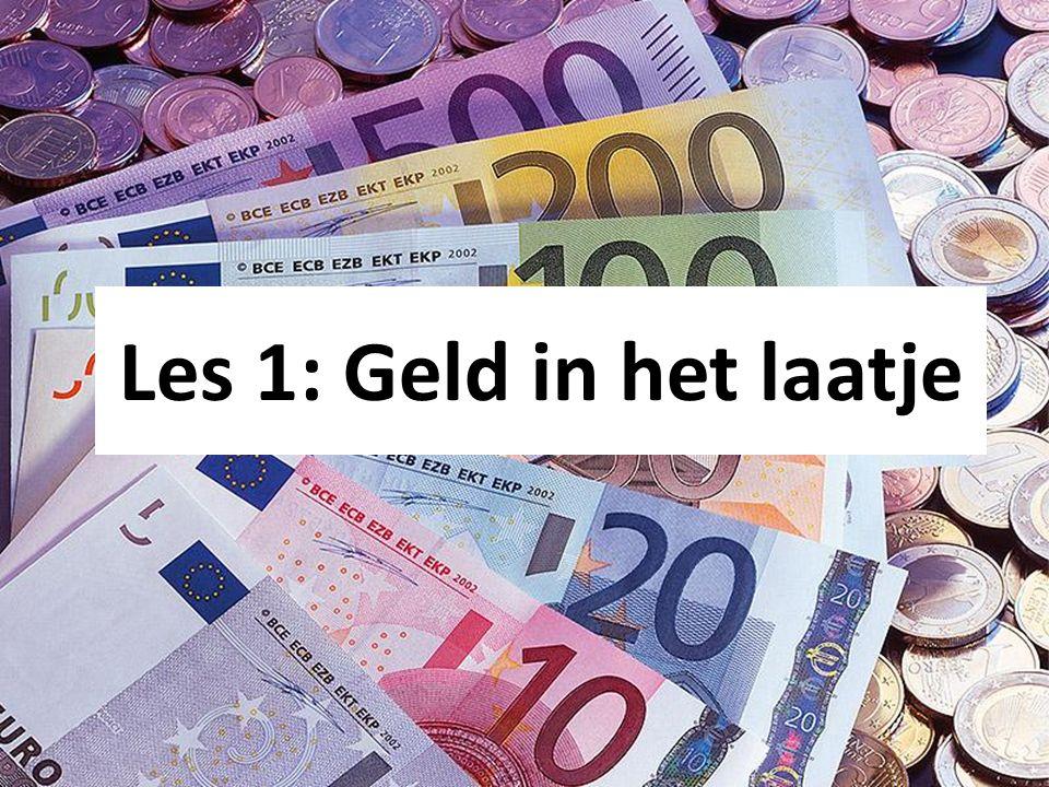 Les 1: Geld in het laatje