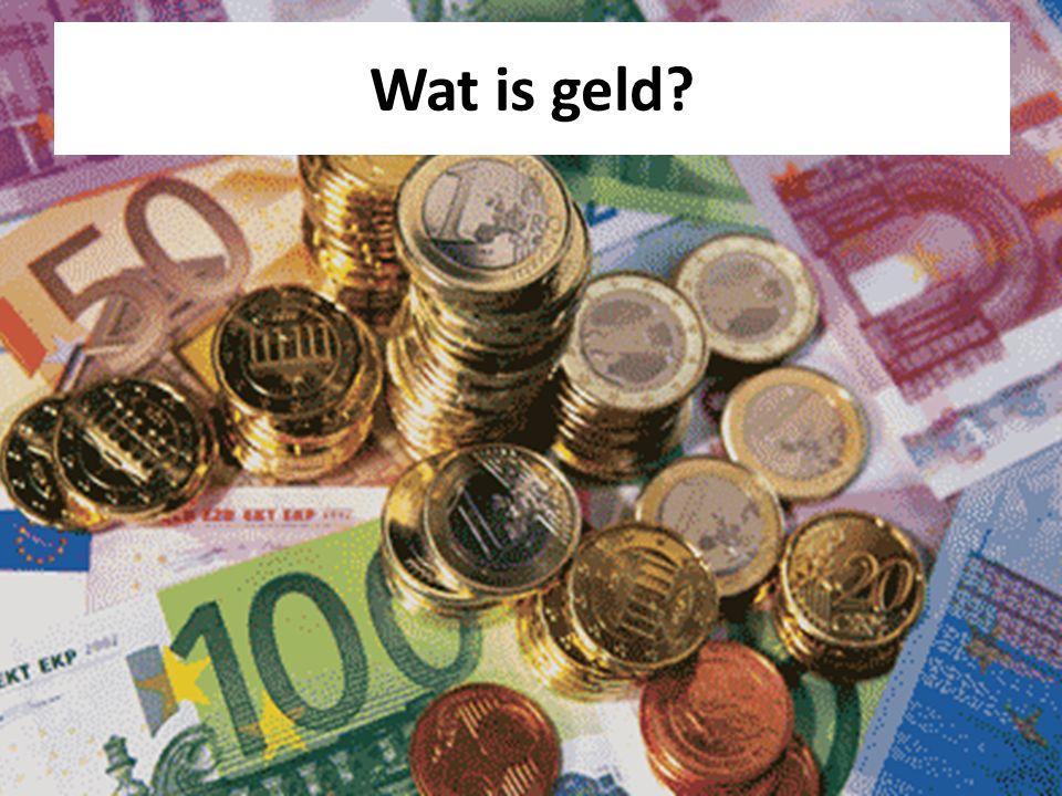 Wat is geld
