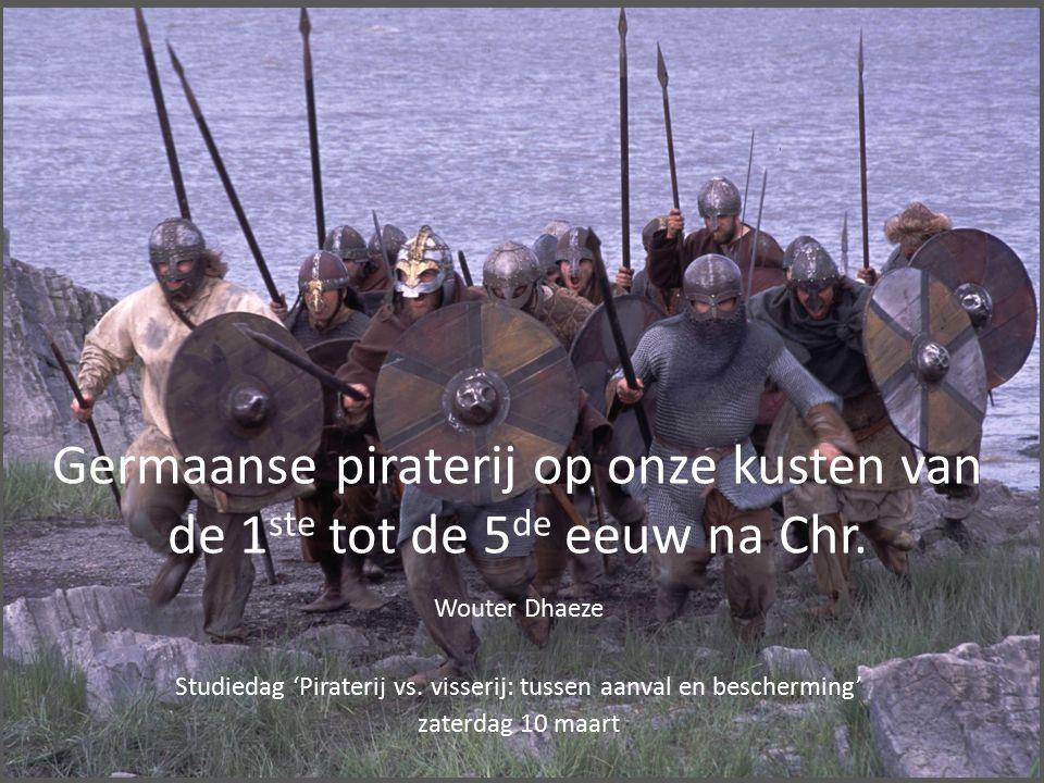 Germaanse piraterij op onze kusten van de 1 ste tot de 5 de eeuw na Chr.