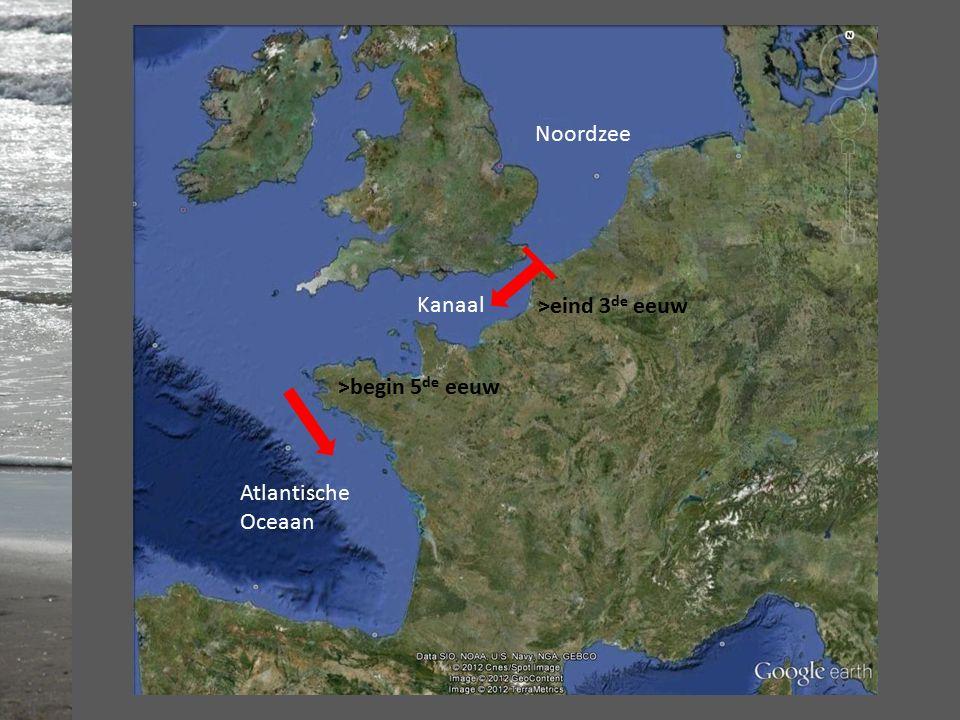 Noordzee Kanaal Atlantische Oceaan >eind 3 de eeuw >begin 5 de eeuw