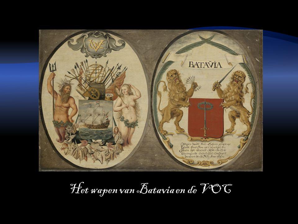 Het wapen van Batavia en de VOC