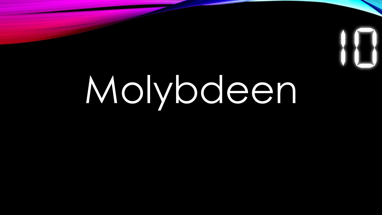 Molybdeen
