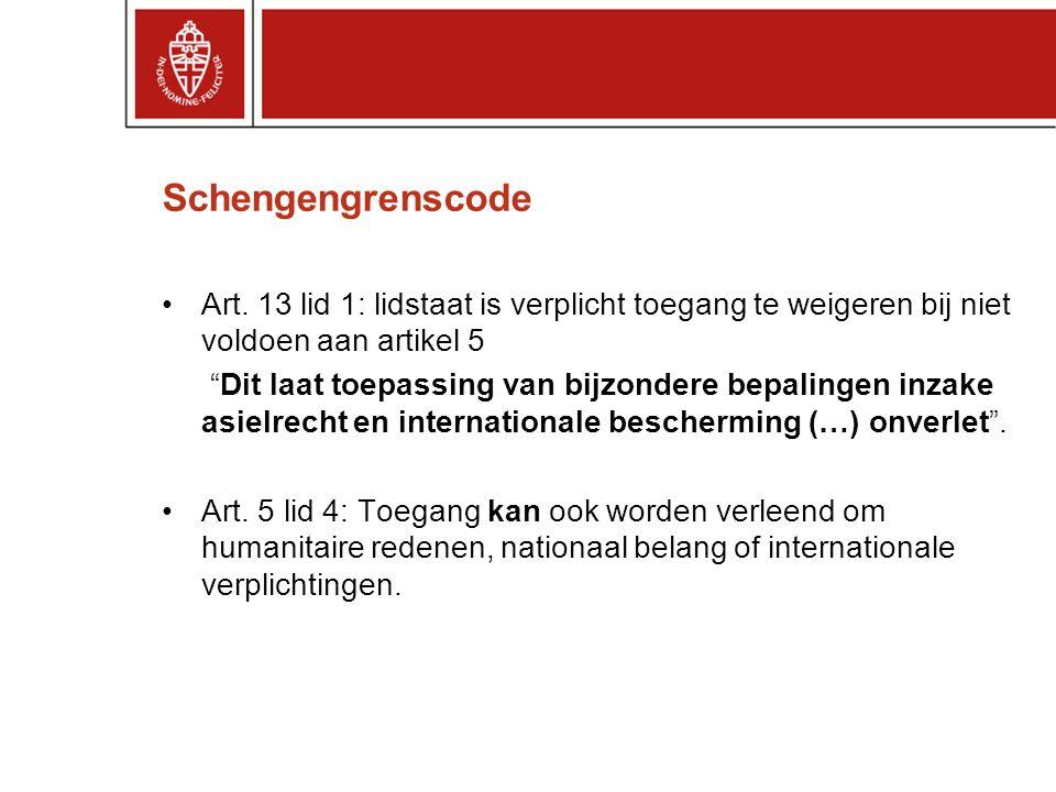 Schengengrenscode Art.