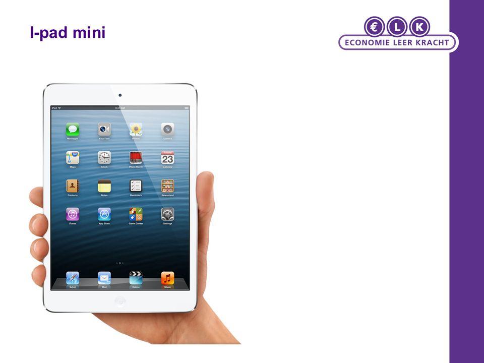 Living Graph iPad Mini kannibaliseert verkoop originele iPad AMSTERDAM - De verkoop van de 9,7 inch iPad groeit niet meer.