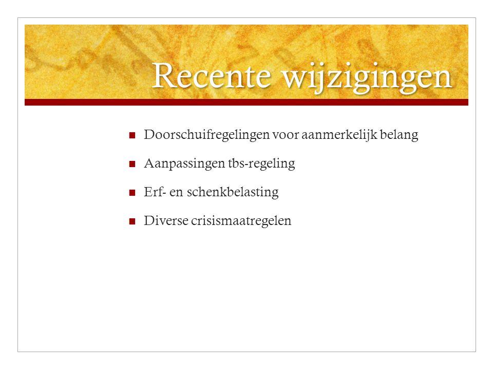 Vooruitblik en dossiers Commissie Van Weeghel Hypotheekrente-aftrek Rente-aftrekbeperkingenVpb Oudedagsvoorzieningen, Regeerakkoord, 66 jaar en AOW gelijke verhoging Landbouwvrijstelling.