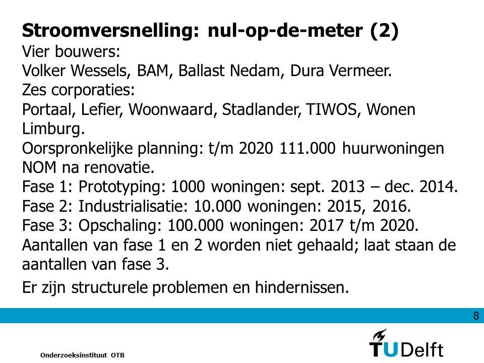 19 Onderzoeksinstituut OTB Figuur 4Gemiddeld gas- en elektriciteitsverbruik 2004-2010