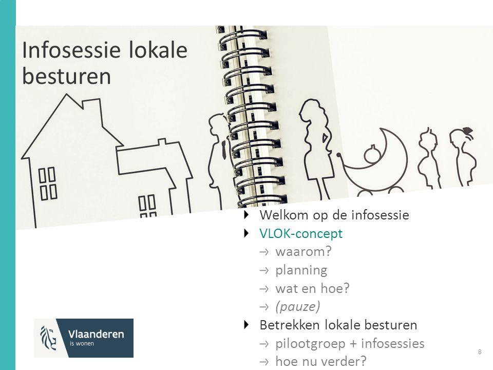 Infosessie lokale besturen Welkom op de infosessie VLOK-concept waarom.