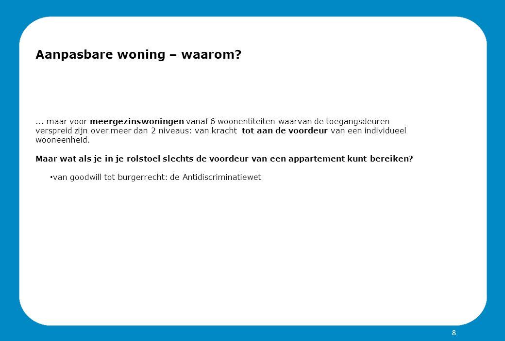 ToegangToiletBadkamerSlaapkamerLeefruimteKeukenBergingGangen Aanpasbaar bouwen – meerprijs.