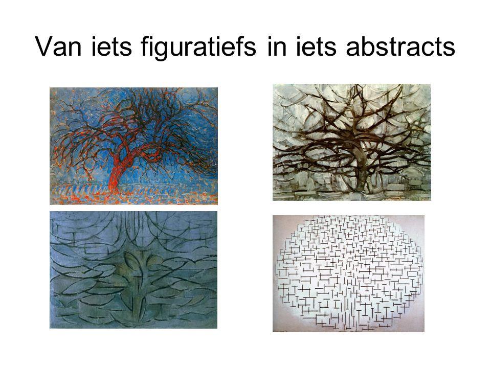 Van iets figuratiefs in iets abstracts