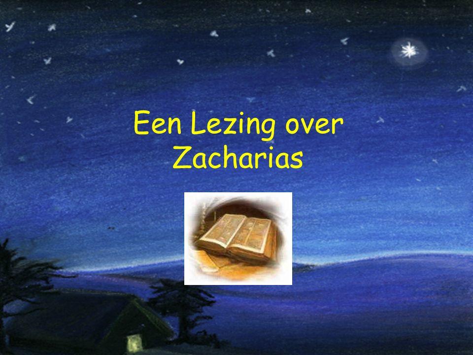 Een Lezing over Zacharias