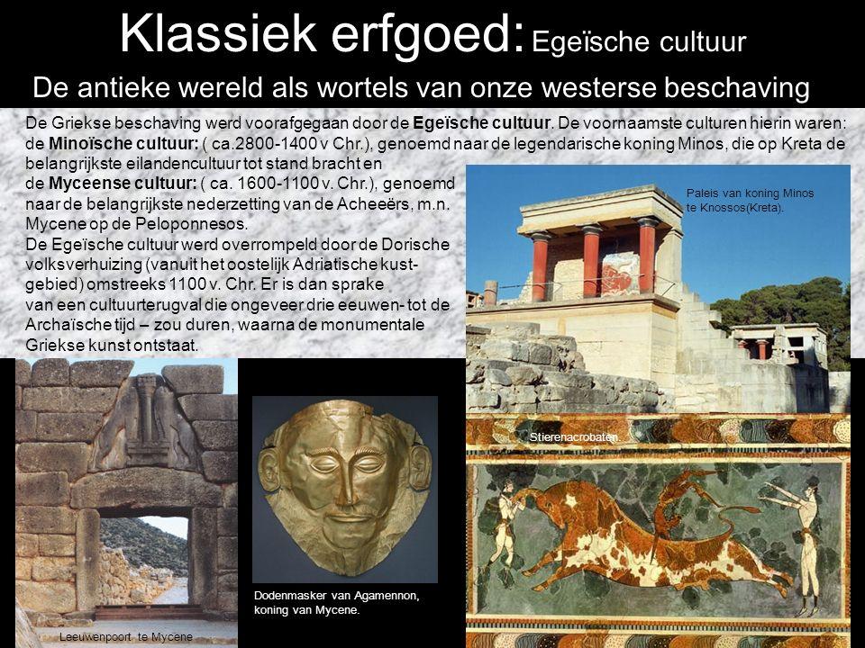 Klassiek erfgoed Grieken: 880- ca.200 v.C.