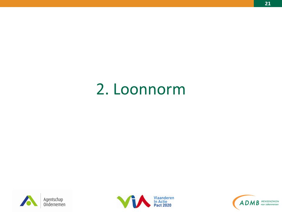 21 2. Loonnorm
