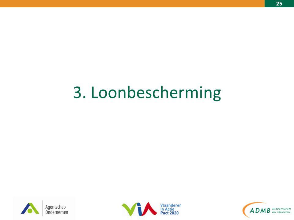 25 3. Loonbescherming