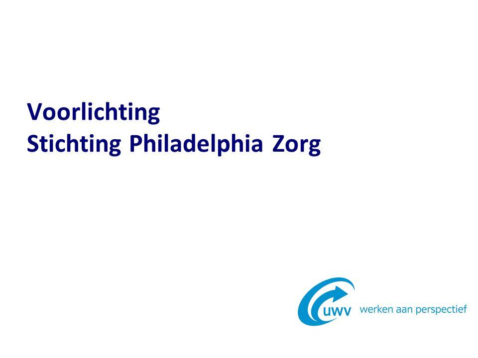 Voorlichting Stichting Philadelphia Zorg